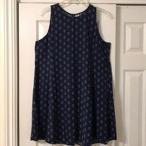 OLD NAVY adorable Blue/White Shift Dress